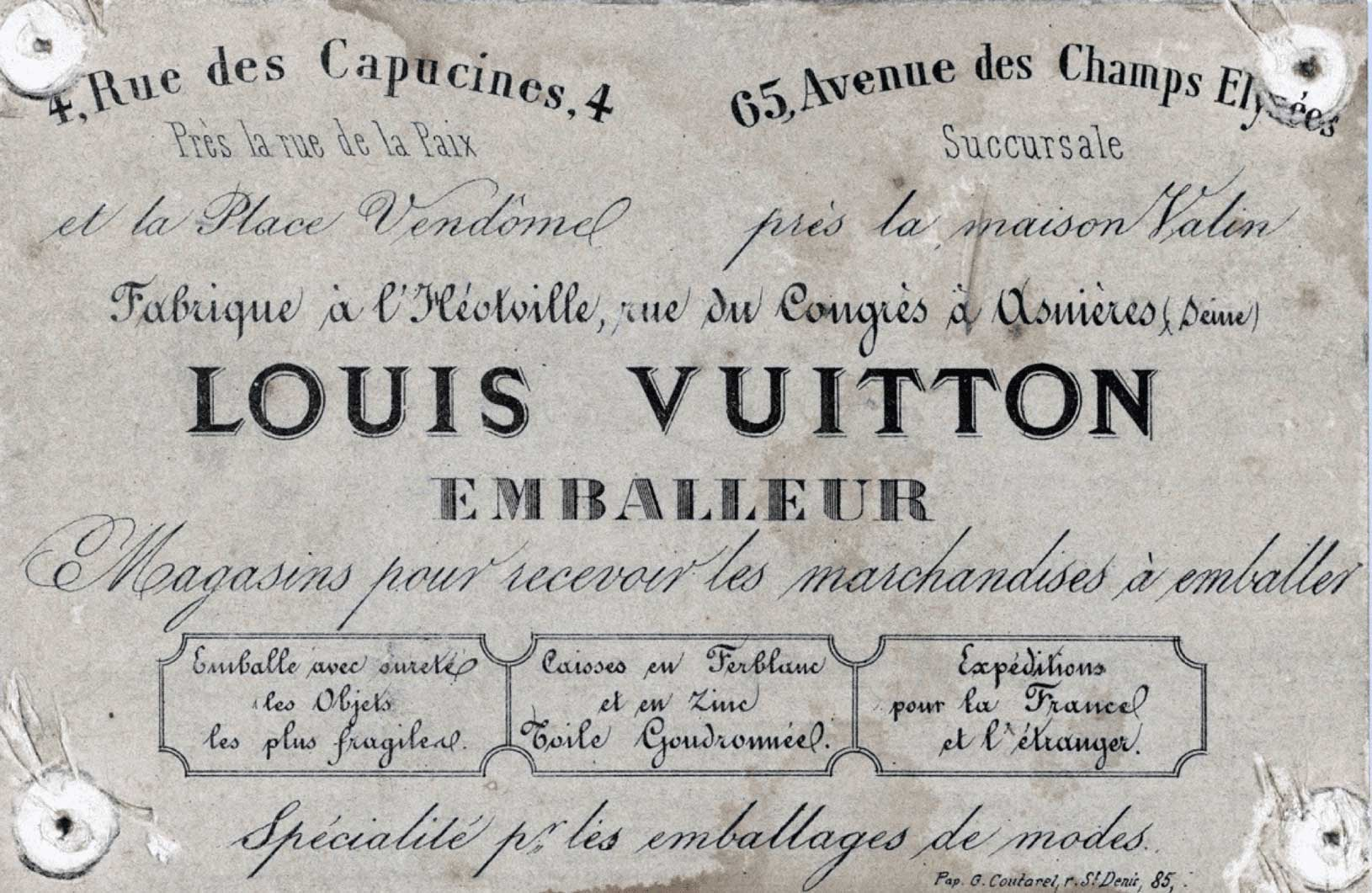 Cabinet Décriture ZeCraft - How to make an invoice in word louis vuitton online store