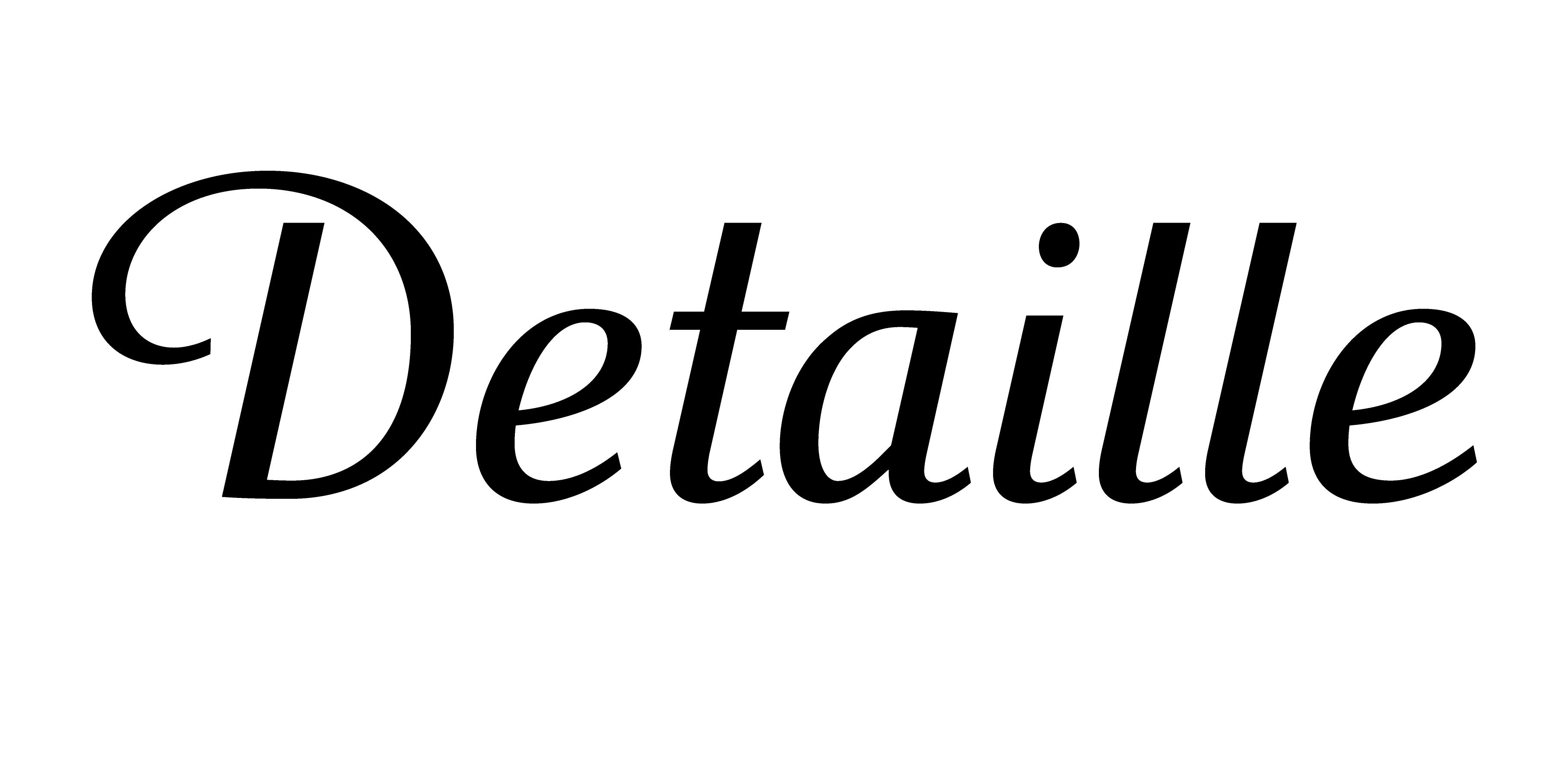 Detaille