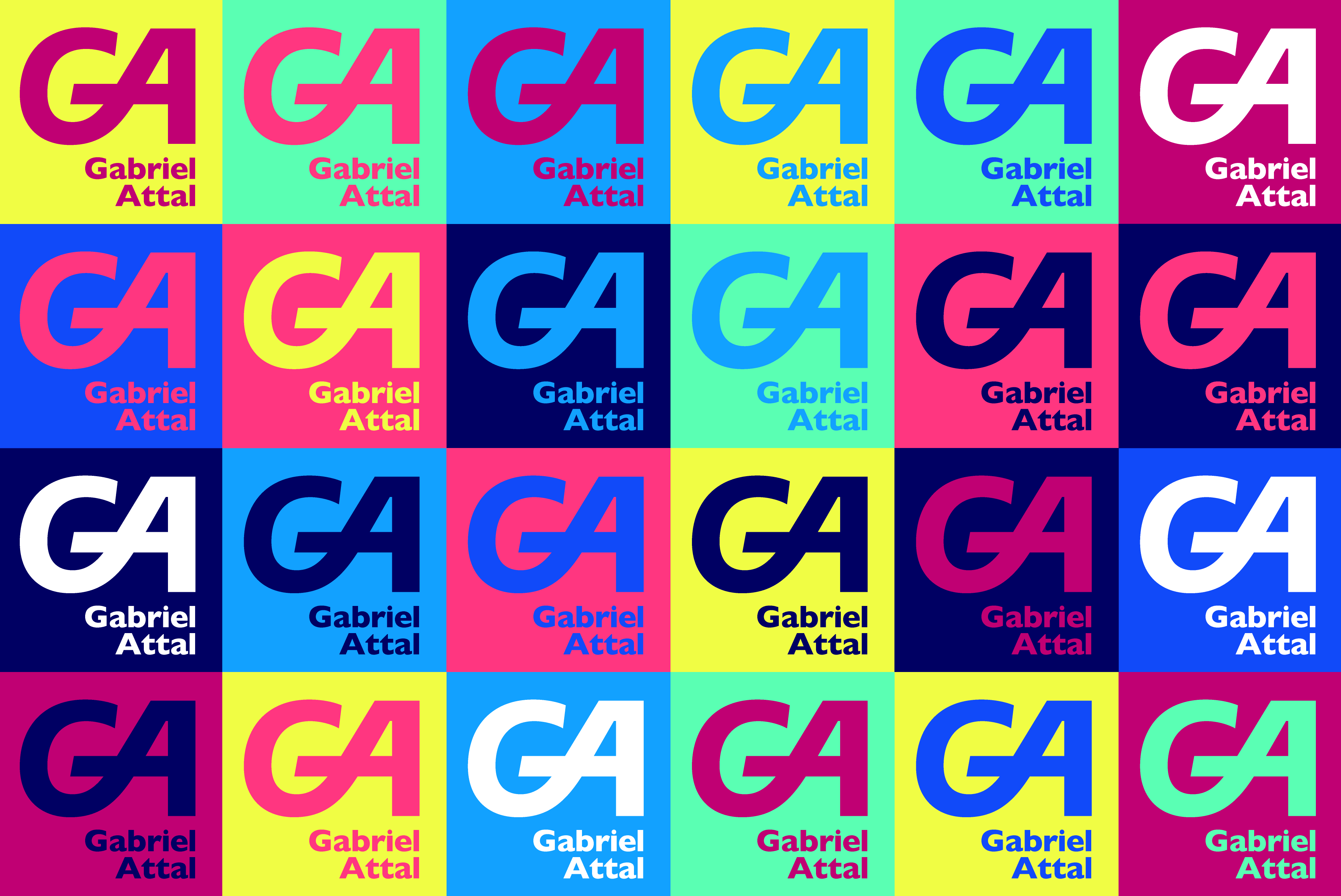 Gabriel Attal identity & website